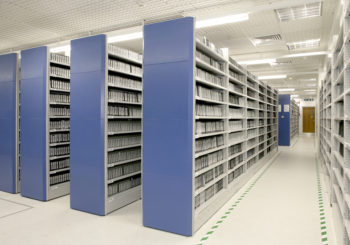 Amenajare spatii arhiva, conditii de pastrare a documentelor